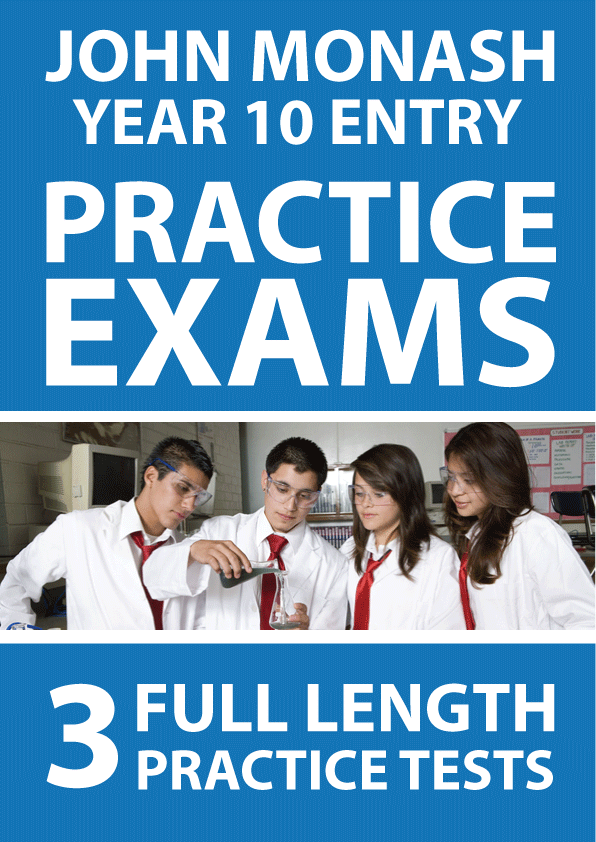 science practice exam year 10 pdf